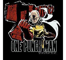 One Punch Hero Photographic Print