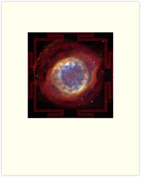 The Eye of God Yantra by svahha