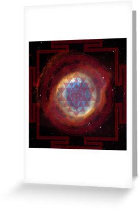 The Eye of God Yantra by svahha