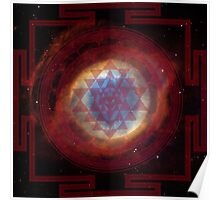 The Eye of God Yantra Poster