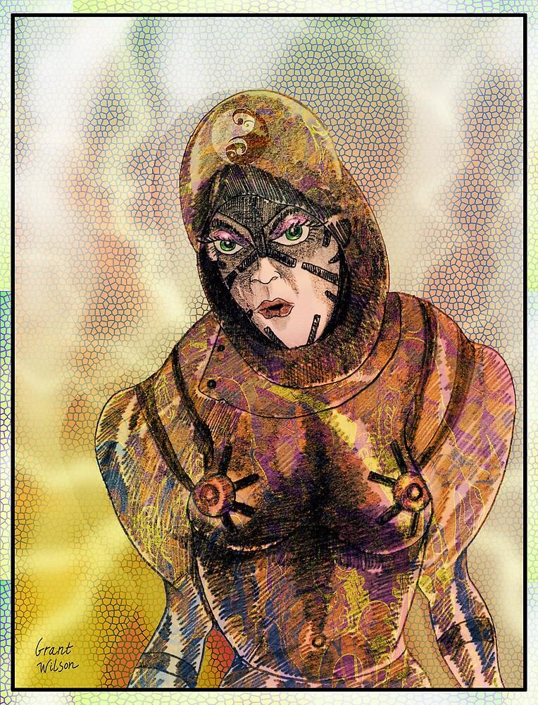 Robot Mother Warrior by Grant Wilson