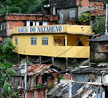 Brazilian Favela by Maggie Hegarty