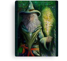 Court Wizard Canvas Print