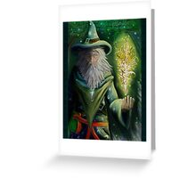 Court Wizard Greeting Card