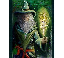 Court Wizard Photographic Print