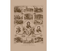 Chain of events in American History Photographic Print