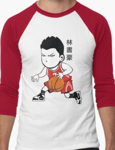 LINSANITY IN HOUSTON Men's Baseball ¾ T-Shirt