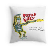 Dirtier Harry Throw Pillow
