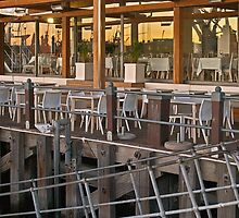 Waterfront restaurant by awefaul
