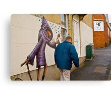 Street Art, Bristol Canvas Print