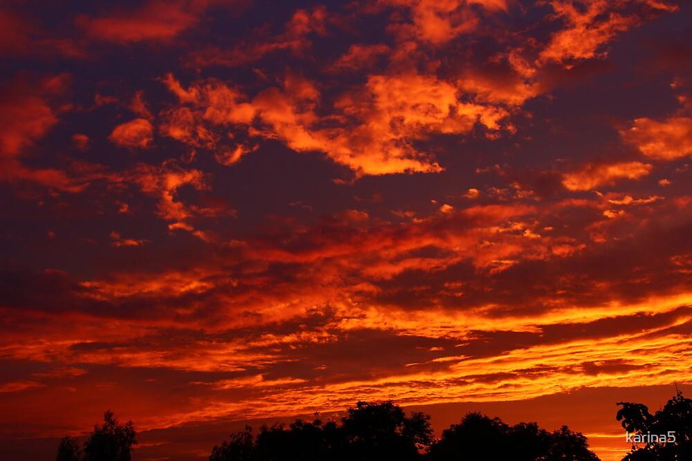Spectacular Evening Sky by karina5