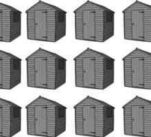 Fifty Sheds of Grey Sticker