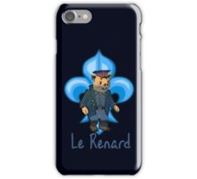 Le Renard iPhone Case/Skin