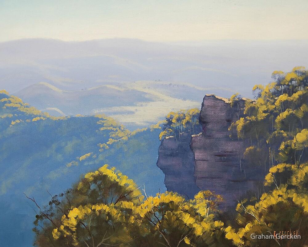 Katoomba Cliffs by Graham Gercken