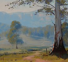 Valley Gum Tree by Graham Gercken