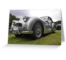 Triumph TR2 Francorchamps (1954) Greeting Card