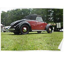 Volkswagen Hebmüller Cabrio (1952) Poster