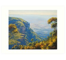 Above The Valley Art Print