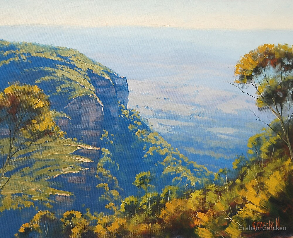 Above The Valley by Graham Gercken