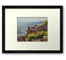 Lithgow Landscape Framed Print