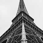 Eiffel Tower - Another Perspective by Harmeet Gabha