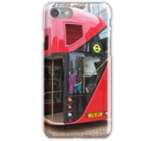 New London Bus Prototype in Bromley Kent. iPhone Case/Skin