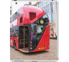 New London Bus Prototype in Bromley Kent. iPad Case/Skin