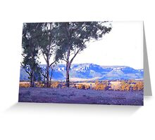 Afternoon Light Turon Gates Greeting Card