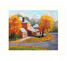 Autumn Historic Carcor Art Print