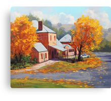 Autumn Historic Carcor Canvas Print