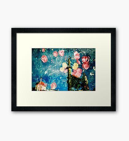 portmeirion in bloom Framed Print