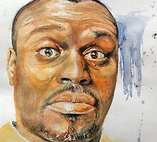 Self-Portrait - Artist In Surprised Mode by edy4sure