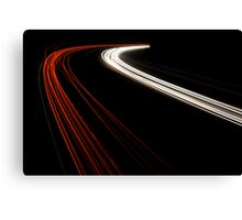 The Speed of Light Canvas Print