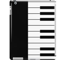 Piano Keys Graphic T Shirt iPad Case/Skin