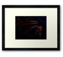 warp 8 Framed Print