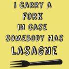 Lasagne Fork by HWilso