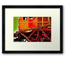Doom Train4229... Framed Print