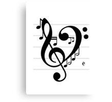 Love Music II Canvas Print