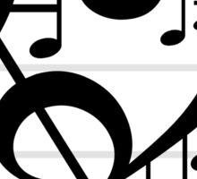 Love Music II Sticker