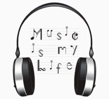 Music Is My Life by Roseanna19