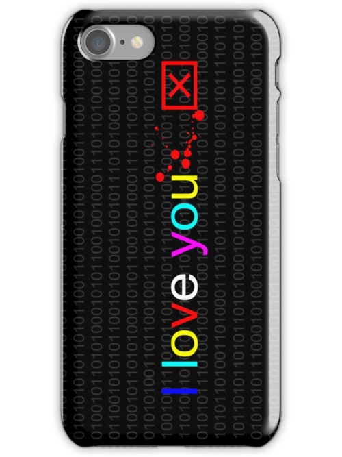 I love you 1 case by PASLIER Morgan