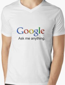 I am Google. Mens V-Neck T-Shirt