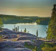 Blachford Lake Sunrise by Yukondick