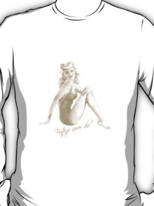 Pin up - Vintage never die T-Shirt