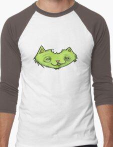 Zombie Kitty  Men's Baseball ¾ T-Shirt
