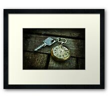 The key of Zelda Framed Print