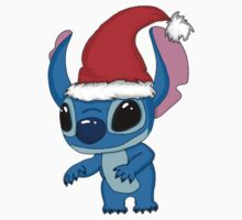 Cute christmas Stitch Baby Tee