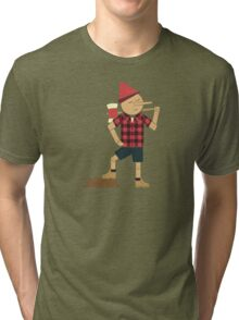 Wrong Guy For The Job Tri-blend T-Shirt