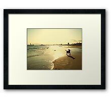 When She is the Happiest Framed Print