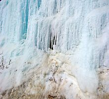 Ice Wall on Montana Mountain by Yukondick